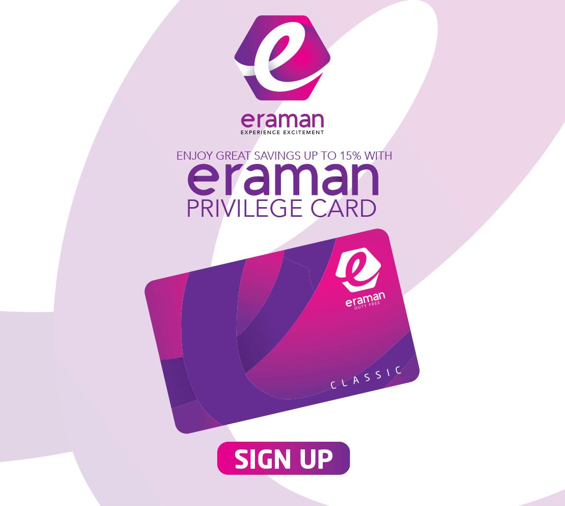 Eraman Privilege Card